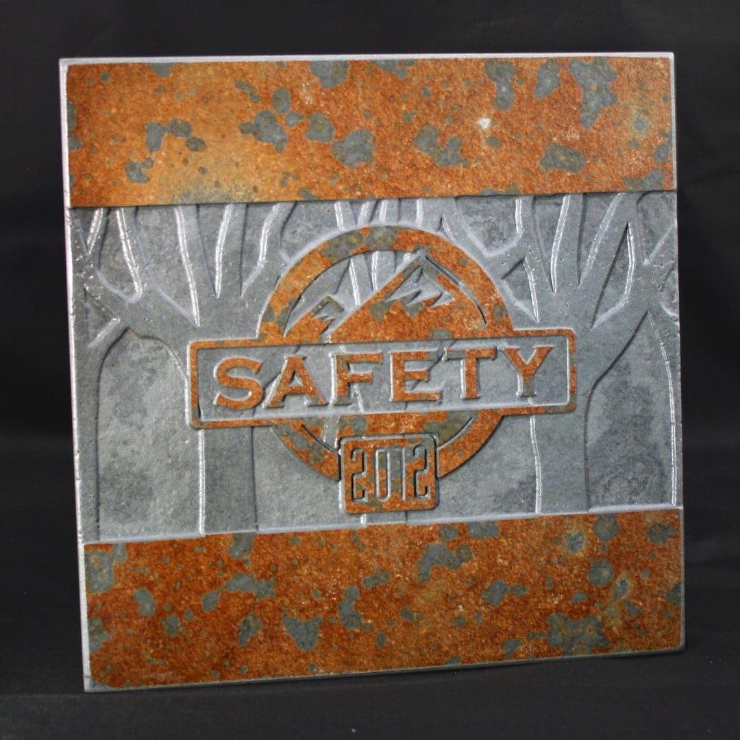 Custom Award Tile